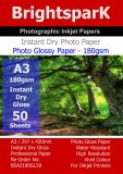 Gloss 180gsm A3 Photo Paper