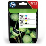 HP 953XL Black, Cyan, Magenta & Yellow