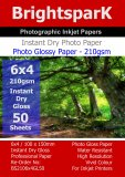 Gloss 210gsm 6x4 Photo Paper