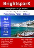 Gloss 180gsm A4 Photo Paper